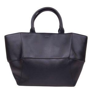 BCBGeneration black geometric tote bag NWT. Large